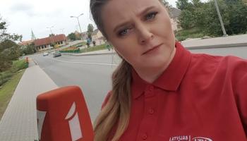 Rudītes Spakovskas sajūtas pirmajā nedēļā jaunā darba vietā