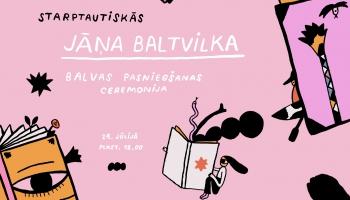Sarunas par bērnu literatūru pirms Baltvilka balvas pasniegšanas
