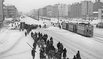 Otrais pasaules karš. 1943./ 44. gads. Norises Austrumu frontē un Ļeņingradas blokāde
