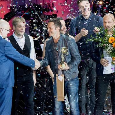 """""""Prāta Vētra"""" iegūst Muzikālās Bankas 2015.gada vērtīgākās dziesmas titulu"""