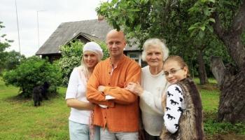 Pie Jāņa Krieķa un viņa ģimenes Launkalnes pagastā