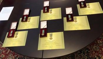 Украина наградила латвийских волонтеров