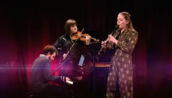 """""""Trio Carmine"""" koncerts. Sazināmies ar vijolnieci Magdalēnu Geku"""