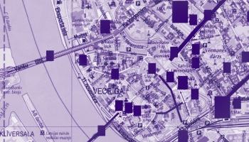 No topošās pilsētas Rīdziņas krastos līdz 20. gs. 20. gadiem. Ievas Āvas stāsts