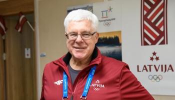 32 gadi Latvijas olimpiskās komitejas vadībā. Paveikto rezumējam kopā ar Aldonu Vrubļevski