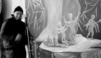 Mākslinieks Miķelis Fišers. Vai viņam ir - Cita patiesība?