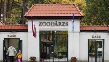 14. oktobris. Rīgas Zooloģiskā dārza oficiālā atklāšanas diena