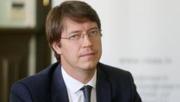 Krustpunktā studijā Latvijas Pasta valdes priekšsēdētājs Mārcis Vilcāns