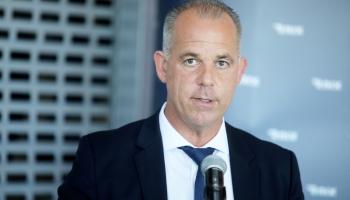 """Latvijas Nacionālās lidsabiedrības """"airBaltic"""" izpilddirektors Martins Gauss"""