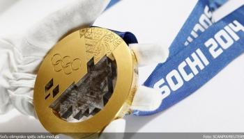 Siguldā gatavojas olimpisko zelta medaļu pasniegšanai Latvijas bobslejistiem