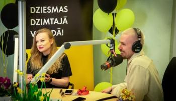 40. nedēļas ēterā visvairāk spēlēto dziesmu topa 1. vietā Markus Riva, Dināra Rudāne