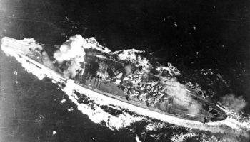 23. oktobris. Leites līča kauja - pēdējā lielā jūras kauja pasaules vēsturē