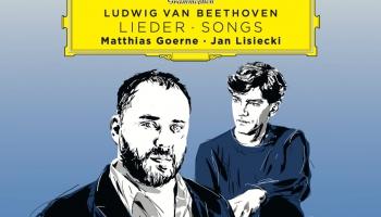 Baritons Matiass Gērne  un pianists Jans Ļiseckis Ludviga van Bēthovena dziesmās