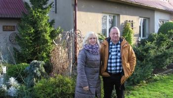 Ilze un Agris Aņūni Brunavā - lielākie sīpolu audzētāji Latvijā