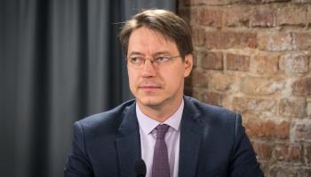 Aktualitātes Latvijas Pasta darbā. Studijā uzņēmuma valdes priekšsēdētājs Mārcis Vilcāns