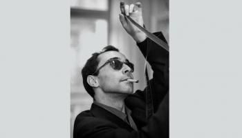 "Franču kino ""jaunā viļņa"" kulta ikona: kino kritiķim un režisoram Žanam Likam Godāram - 90"