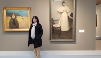 Ginta Gerharde-Upeniece: Tas ir Baltijas mākslas triumfs