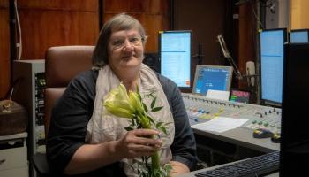 Radio aizkadrā: ētera operatore Rita Karnača