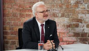 Valsts prezidents Egils Levits komentē aktuālo situāciju valstī
