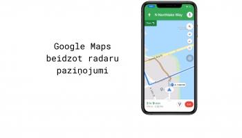 Google Maps beidzot ievieš radaru un policijas brīdinājumus