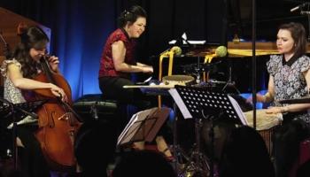 """Ar koncertu I studijā rezidences laiku Latvijas Radio sāk atraktīvais trio """"Art-i-Shock"""""""