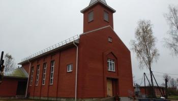 В Латгалии строятся новые церкви. В Зилупе два новых храма