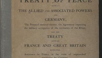 18. janvāris. Versaļā darbu sāk miera konference pēc Pirmā pasaules kara