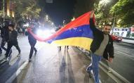 Armēnijā sākušies protesti pret vienošanos par kara izbeigšanu Kalnu Karabahā
