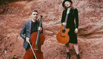 """Duets Emīlija Kate Tomsone un Pauls Ēriks Skujiņš piedāvā dziesmu  """"Aiz devītās paralēles"""""""