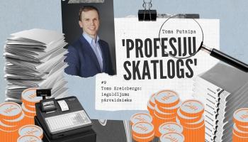 """""""Profesiju skatlogā"""" ieguldījumu pārvaldnieks Toms Kreicbergs"""