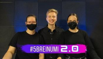 #5BREINUMI 2.0 & influencers Lauris Zalāns un DIKTĀTS latgaliski