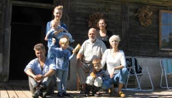Radošā Līcīšu ģimene no Kuldīgas novada Padures