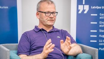 Krustpunktā Lielā intervija: LU Teoloģijas fakultātes profesors Valdis Tēraudkalns