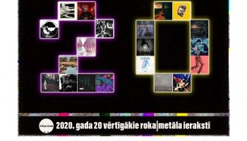 2020. gada 20 vērtīgākie roka un metāla ieraksti Latvijā
