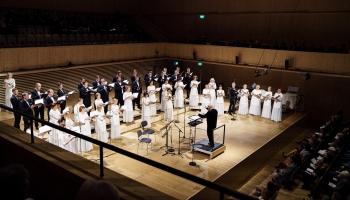 """Šveices, Igaunijas, Latvijas un Lietuvas kormūzika koncertā """"Terra Choralis"""" Cīrihē"""