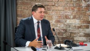 Partijas KPV.lv priekšsēdētājs Artuss Kaimiņš aicina uz partijas pašlikvidāciju