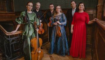 """""""Kesselberg Ensemble"""" Lūznavas muižā ieraksta Mīteļa mūzikas albumu"""