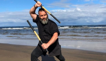 Austrumu cīņas mākslu meistars Volfgangs Vinters: Cīņas mākslas palīdz izprast bailes