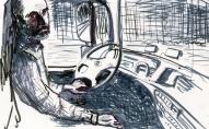 Diāna Tamane jaunākajā izstādē kā līdzautori iesaista mammu, tālbraucēju šoferi