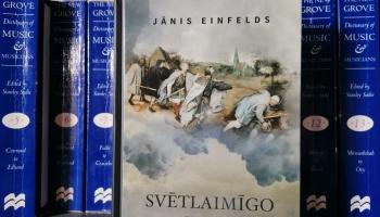 """Jāņa Einfelda romāns """"Svētlaimīgo zeme"""" ir kā spēcīga tinktūra – rūgta, bet nepieciešama"""
