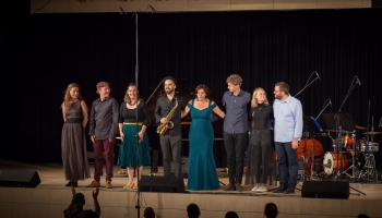 Latvijas Nacionālās bibliotēkas simtgades svinību noslēguma koncerts LNB Ziedoņa zālē