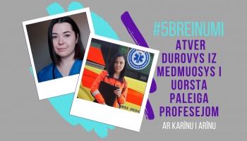 #5BREINUMI: Atver durvis uz medmāsas un ārsta palīga profesijām #4