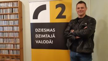 LR2 Rīta Rosme kopā ar bobslejistu Daumantu Dreiškenu!