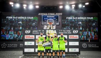 Latvijas 3x3 basketbola izlases uzvara. Labākais šautriņmetējs Madars Razma