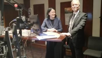 Studijā – Ziemeļvalstu Ministru padomes biroja Latvijā direktors Stefans Ēriksons