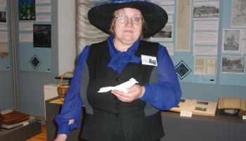 Jaunlaicenes muižas muzeja vadītāja Sandra Jankovska