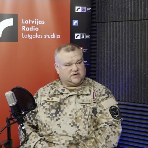 Pulkvežleitnants Gunārs Vizulis par patriotismu, zemissorgu kasdīnu i izaicynojumim
