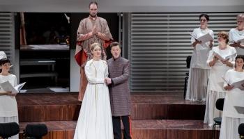 """Riharda Dubras operas """"Suitu sāga"""" pirmizrāde Liepājas """"Lielajā dzintarā"""""""