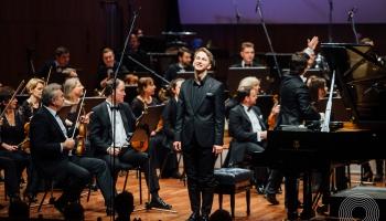 Daumants Liepiņš, LNSO un diriģents Kaspars Ādamsons Džordža Gēršvina mūzikā