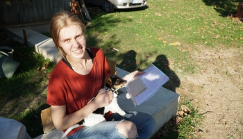Noslēdzot Tēta projektu, uz klausītāju jautājumiem atbild Justīne Savitska